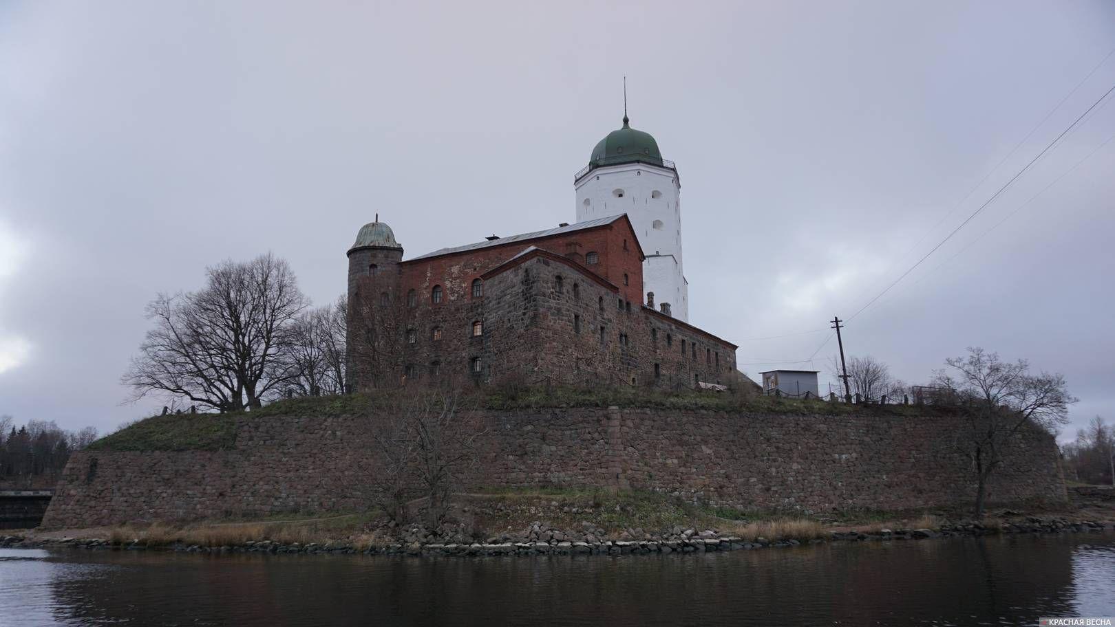 Выборгский замок, Выборг, Ленобласть. 24.11.2018