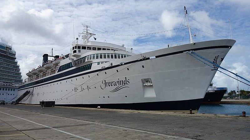 Круизный корабль «Фривиндз»