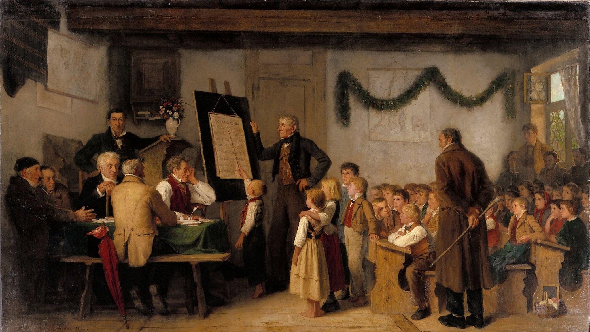 Картинки о первых школах