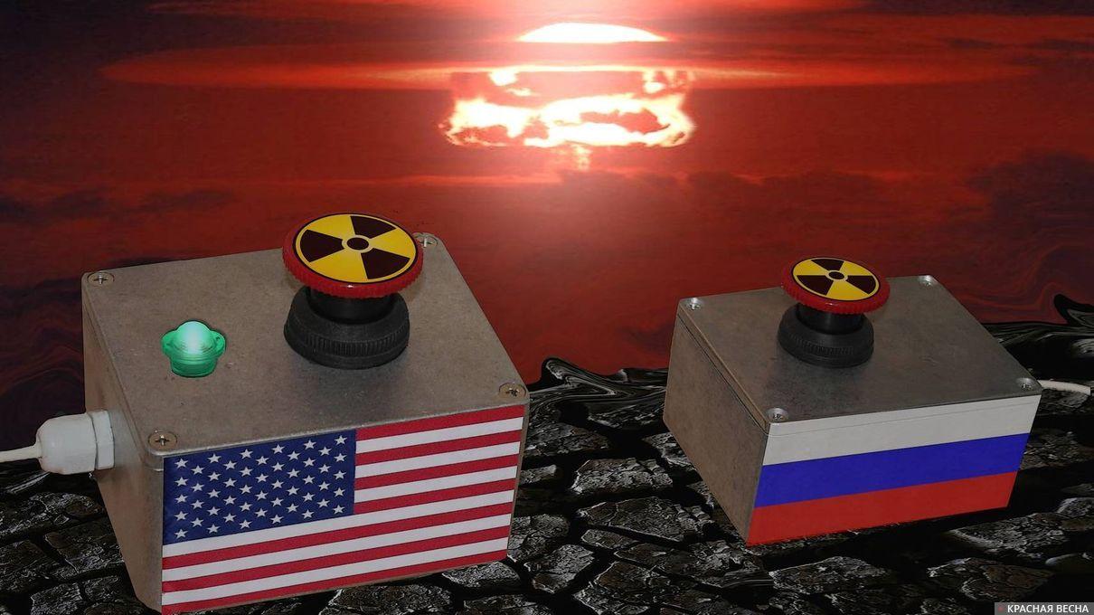 Ядерная гонка России и США