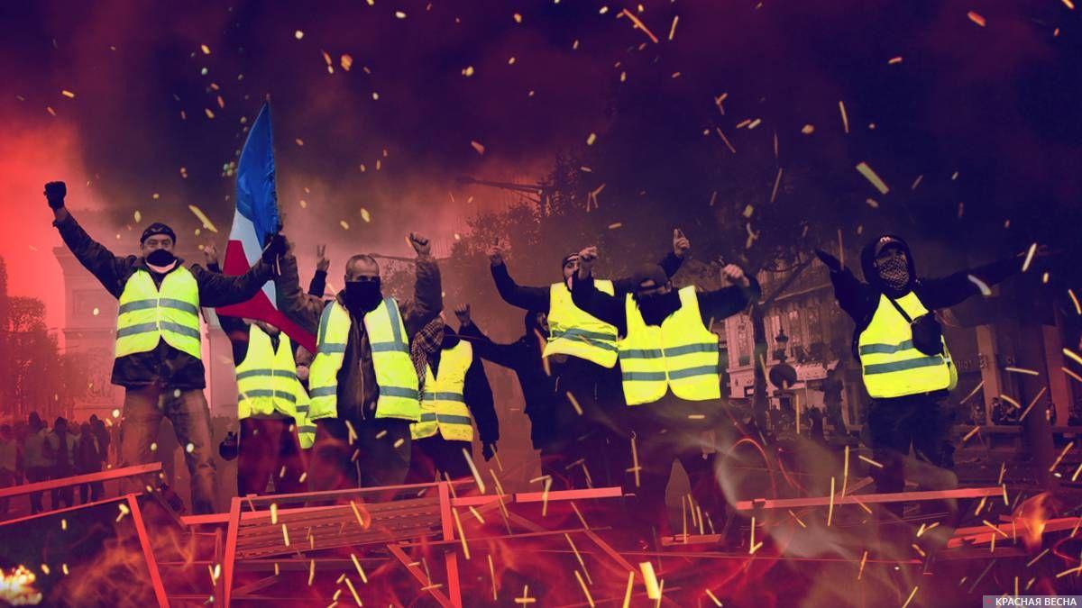 «Желтые жилеты» зажгли Францию