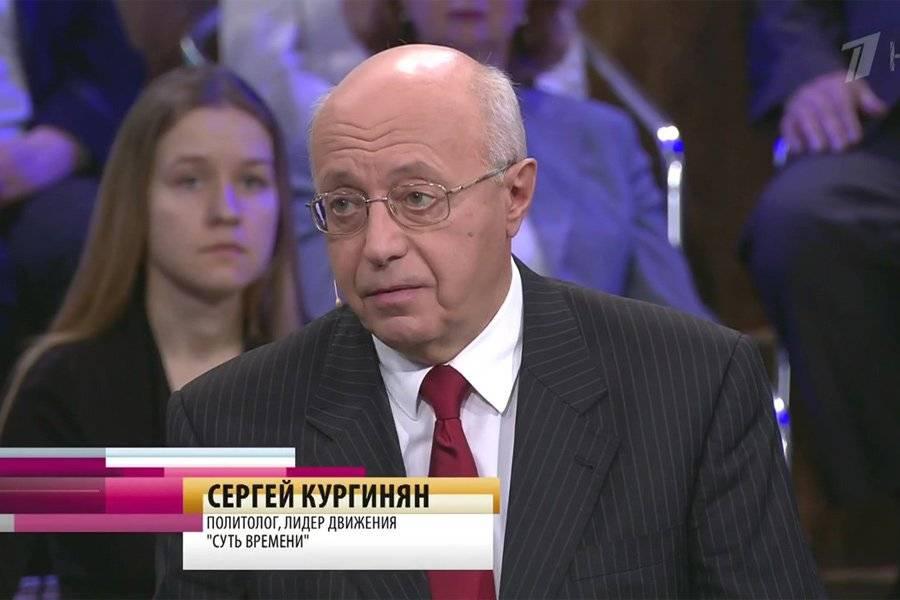 Сергей Кургинян политолог, лидер движения