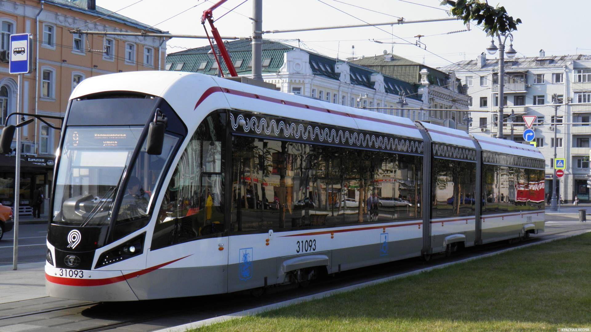 Трамвай 71-931 «Витязь-М»