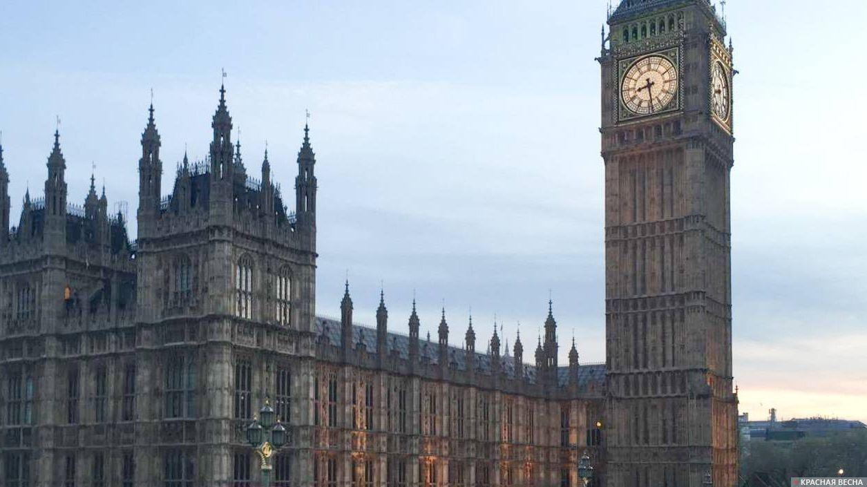 Англия. Лондон. Парламент