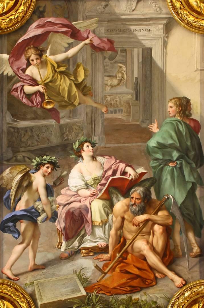 Антон Рафаэль Менгс. Триумф Истории над Временем. 1772