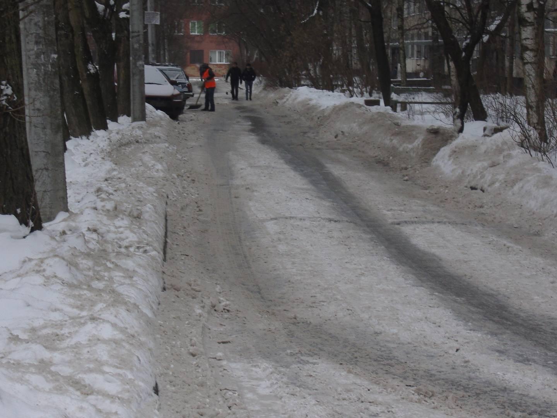 Двор. СПб. Бухарестская ул.