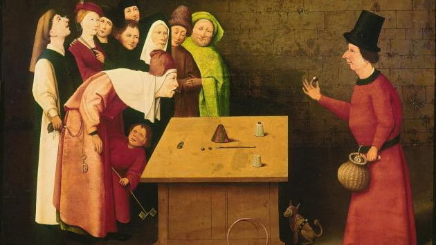 Иероним Босх. Фокусник. 1502