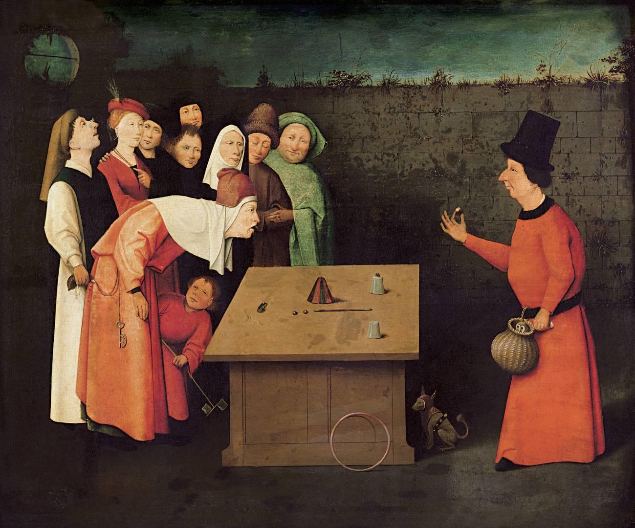 Иероним Босх. Фокусник. XVI век