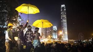 «Революция зонтиков» в Гонконге. Ноябрь 2014 года