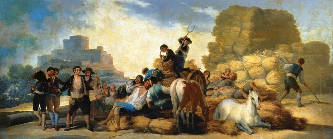 Франсиско де Гойя. Лето (Урожай). 1786