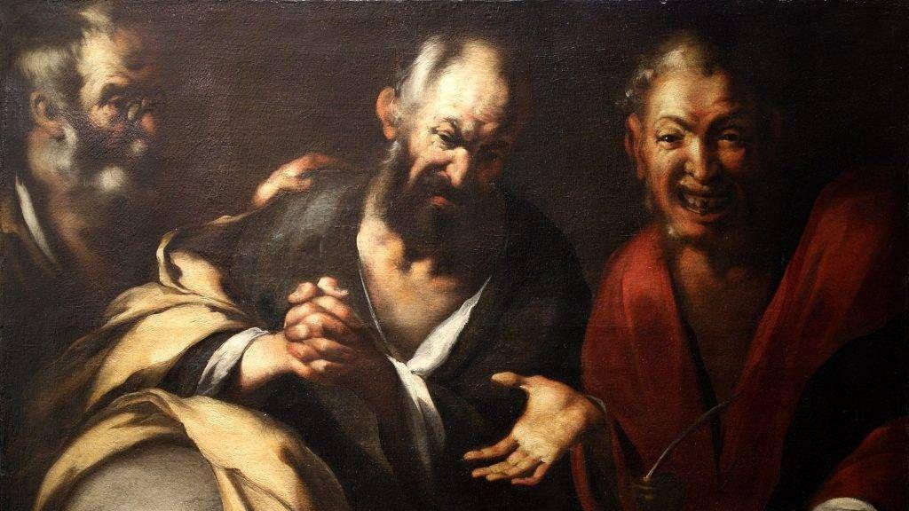 Бернардо Строцци. Три философа. 1630-1640