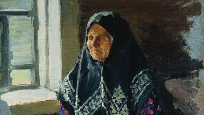 Иван Куликов. Старушка из Нежиловки. 1898