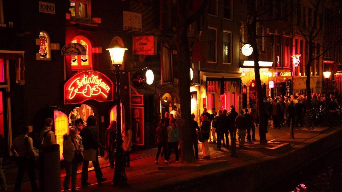 Район «красных фонарей». Амстердам