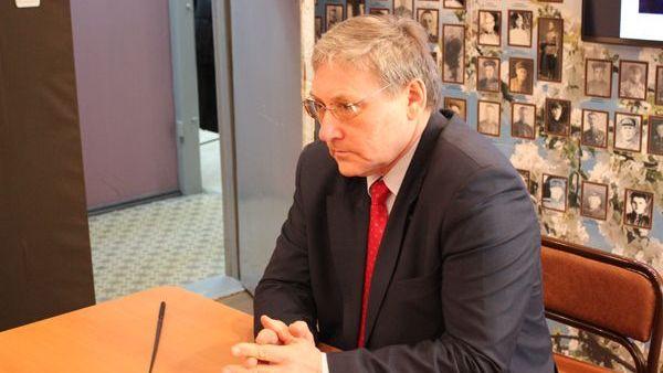 Директор Архивного управления Свердловской области Александр Капустин