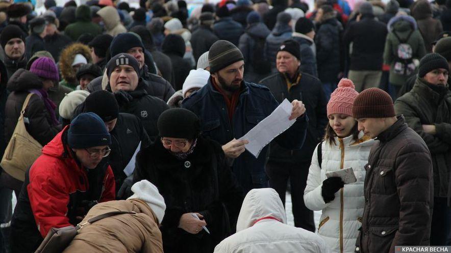 ЦИК принял документы овыдвижении навыборы Российского Президента отНавального
