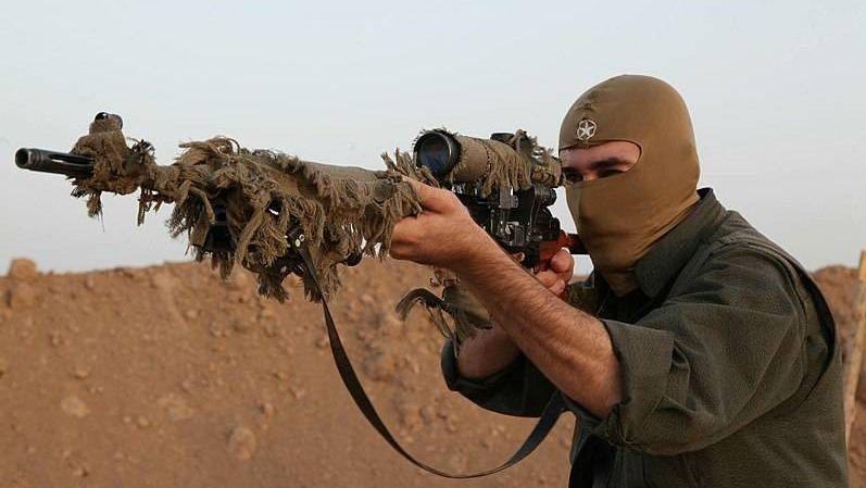Курдские партизаны РПК