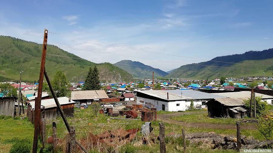 Алтайское село