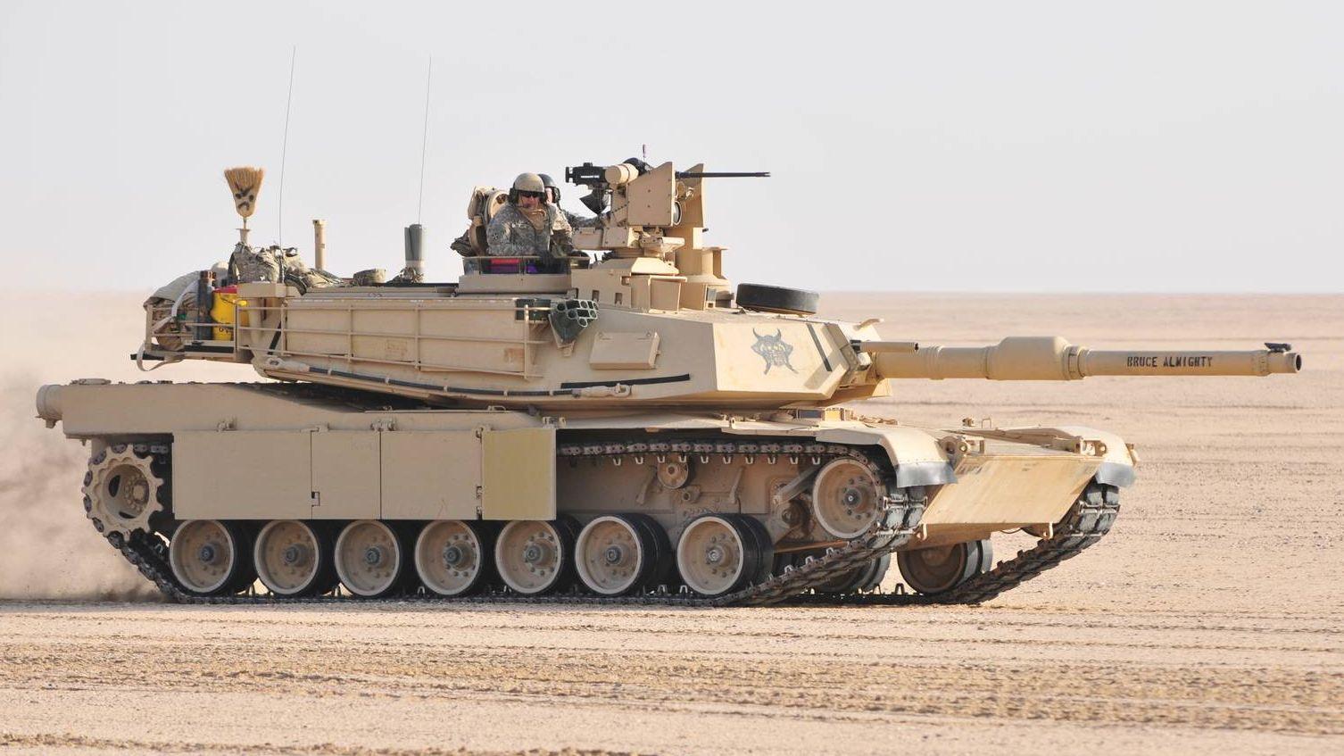 Абрамс - основной боеой танк США