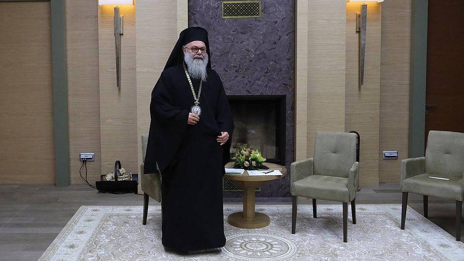 Патриарх Антиохийский и всего Востока Иоанн
