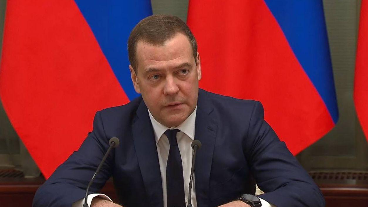 Дмитрий Медведев на встрече президента Владимира Путина с членами правительства. 15.01.2020