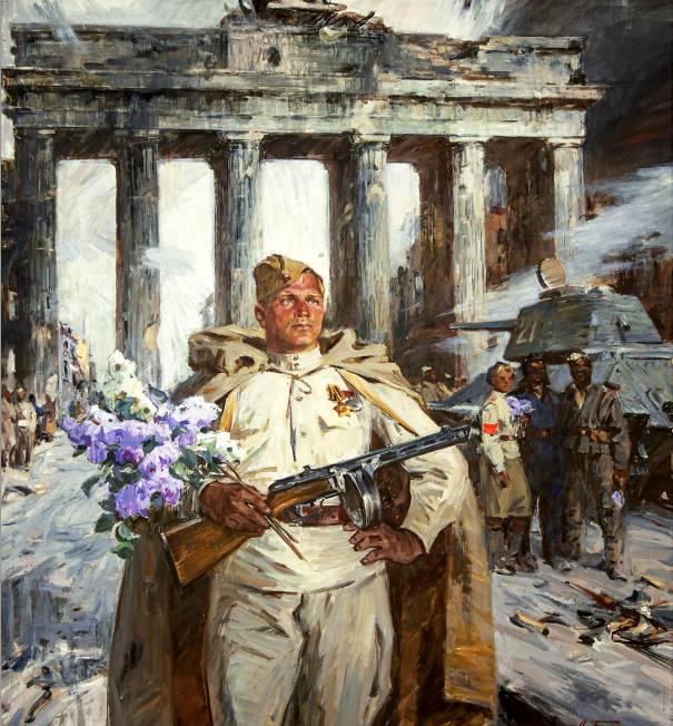 Н. Бортников. Берлин в мае 1945. 1968