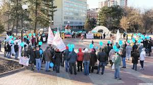 Митинг обманутых дольщиков в Ростове-на-Дону 10.12.2017