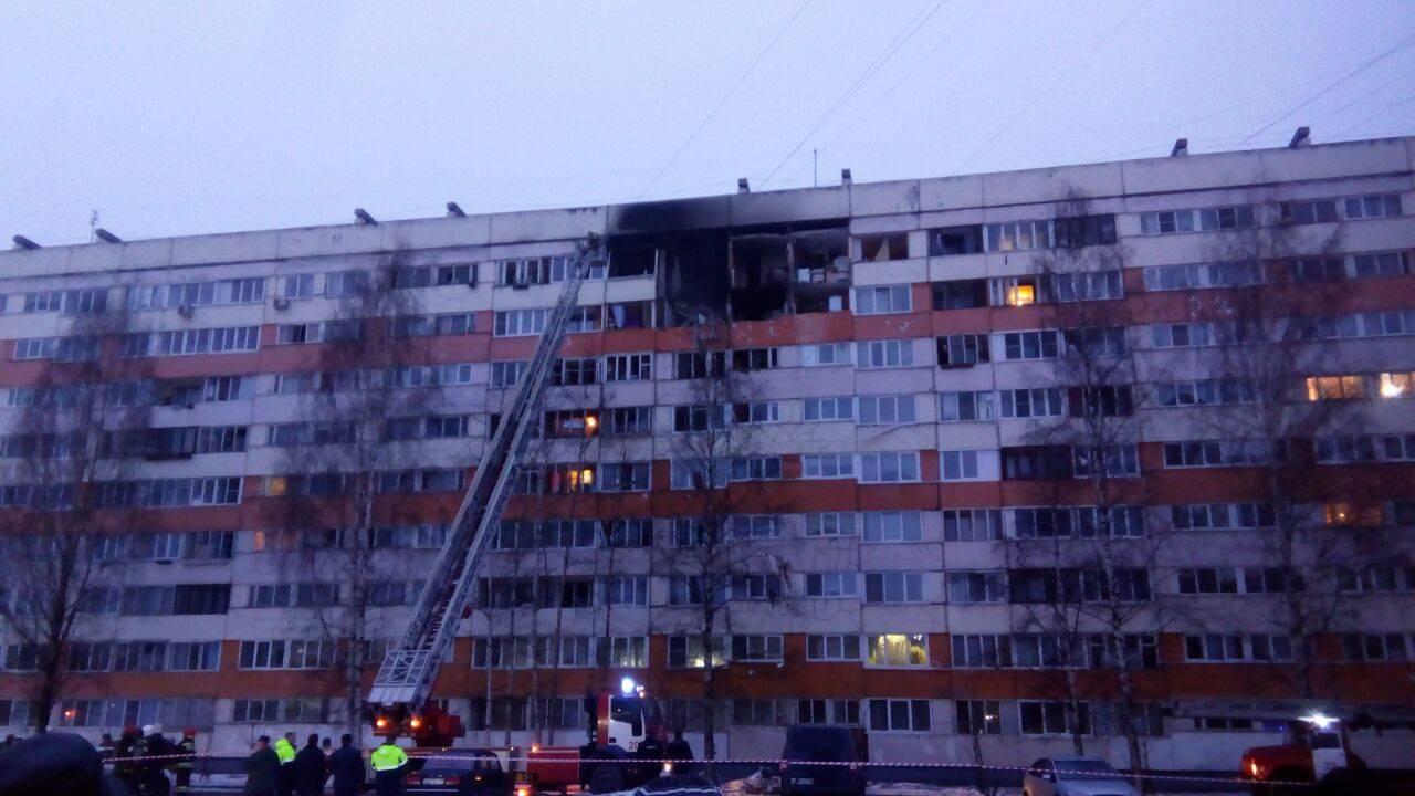 Квартиры, разрушенные взрывом