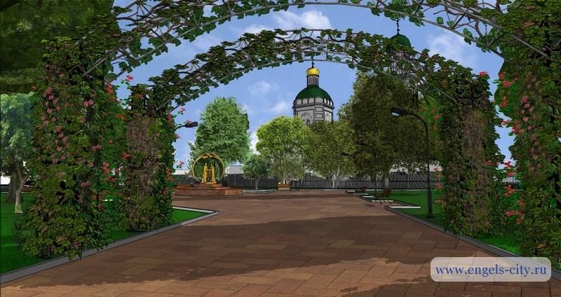 Проект реконструкции Детского парка