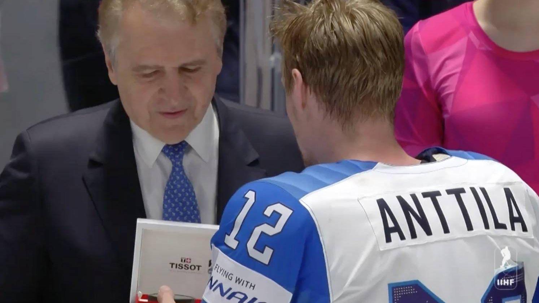 Марко Анттила — лучший игрок финала в составе Финляндии