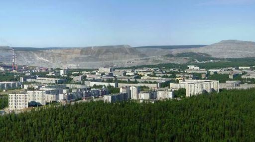 Панорама Ковдора