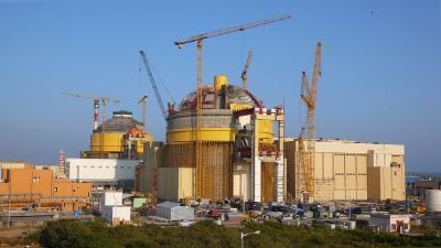 Строительная площадка АЭС «Куданкулам»