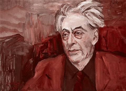 Портрет Ильи Эренбурга, 1959 г