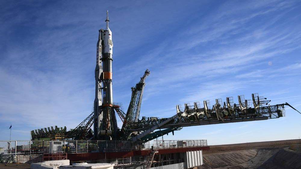 Ракета-носитель «Союз» на старте