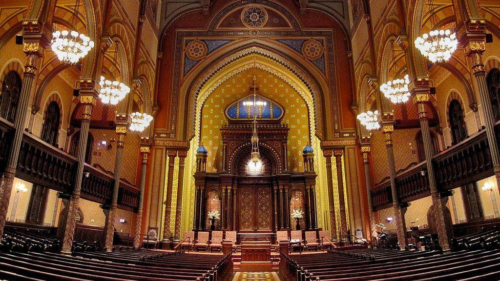 Синагога в Нью-Йорке