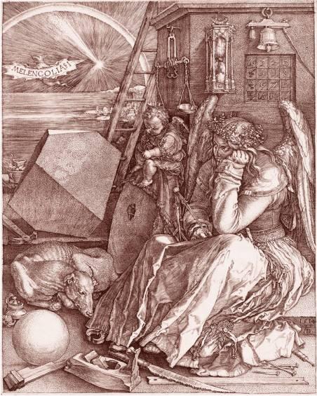 Альбрехт Дюрер. Меланхолия. 1514 г