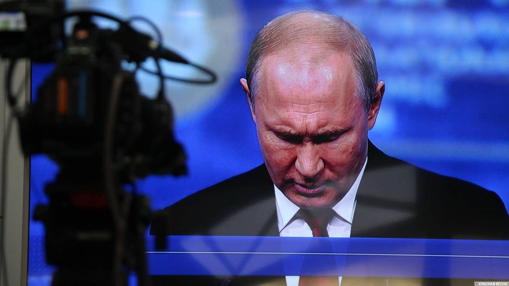 Владимир Путин на ПМЭФ-2019