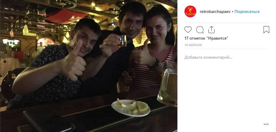 Скриншот страницы https://www.instagram.com/retrobarchapaev/