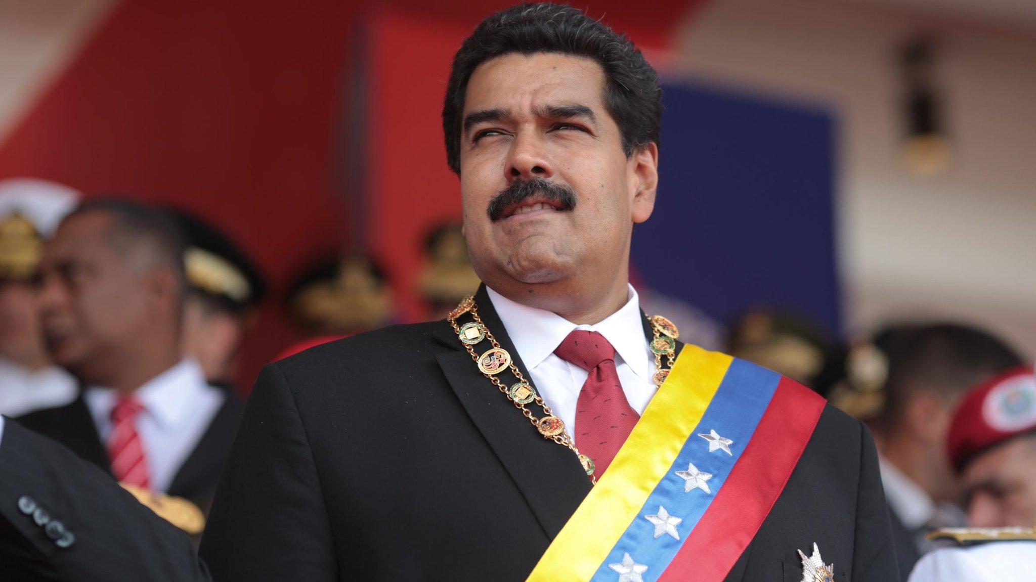 Николас Мадуро президент Венесуэлы (сс)