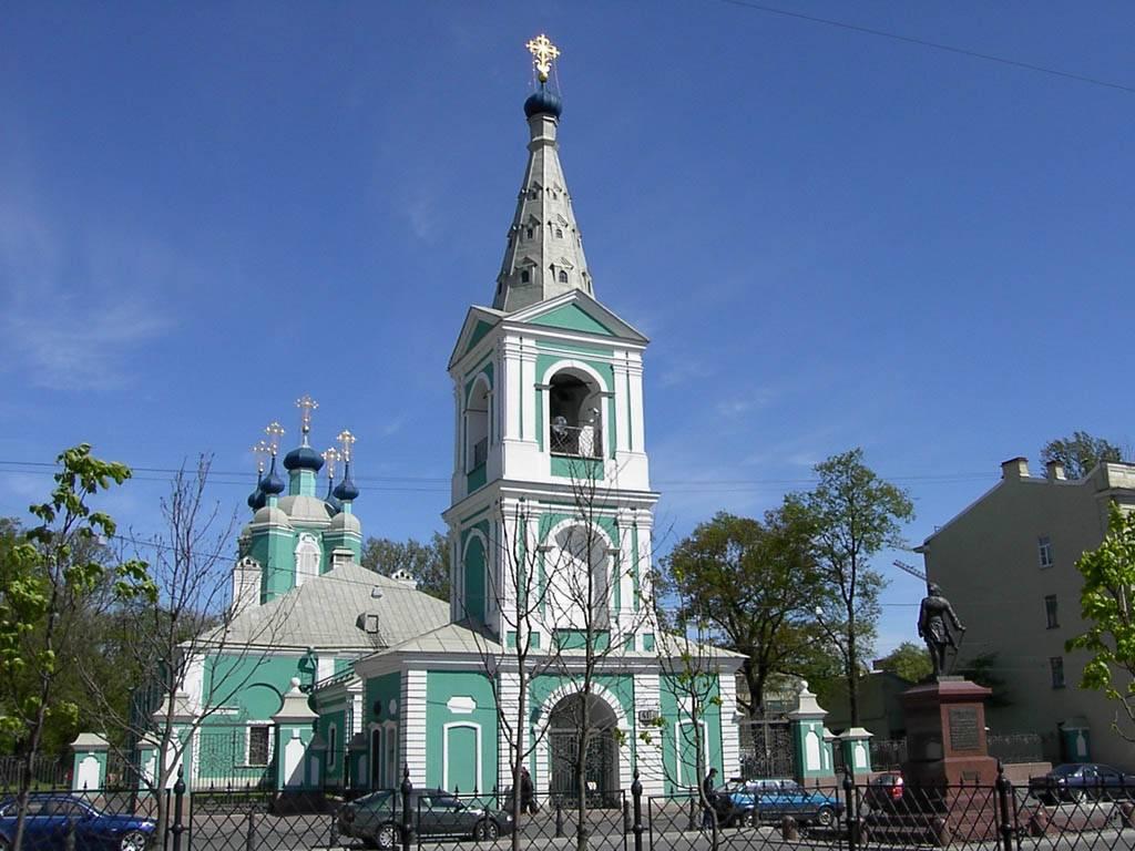 Сампсониевский собор. Санкт-Петербург