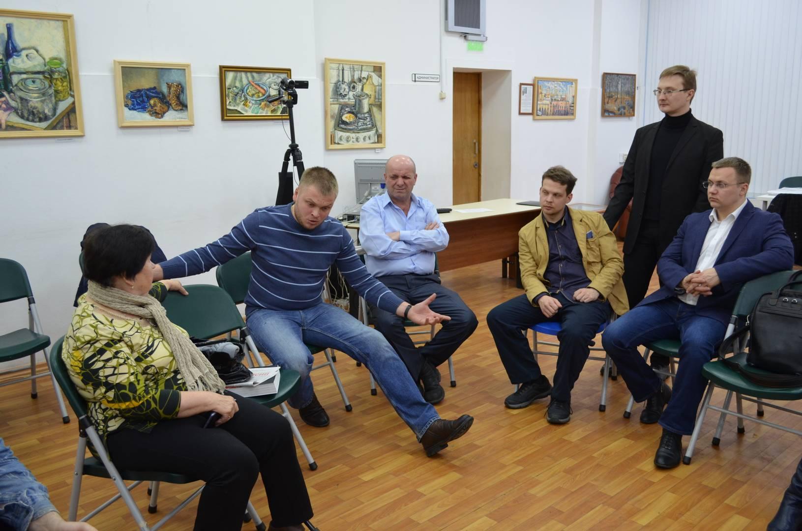 Встреча по пенсионной реформе в ЮВАО г. Москвы