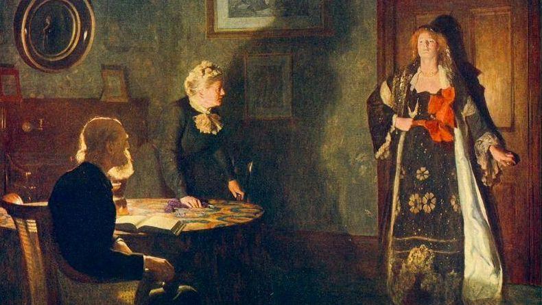 Джон Кольер. Блудная дочь.1903