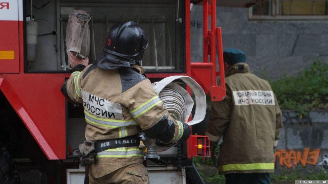Впожаре вдоме насевере-востоке столицы умер человек