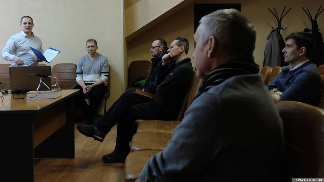 Встреча по пенсионной реформе. Ногинск