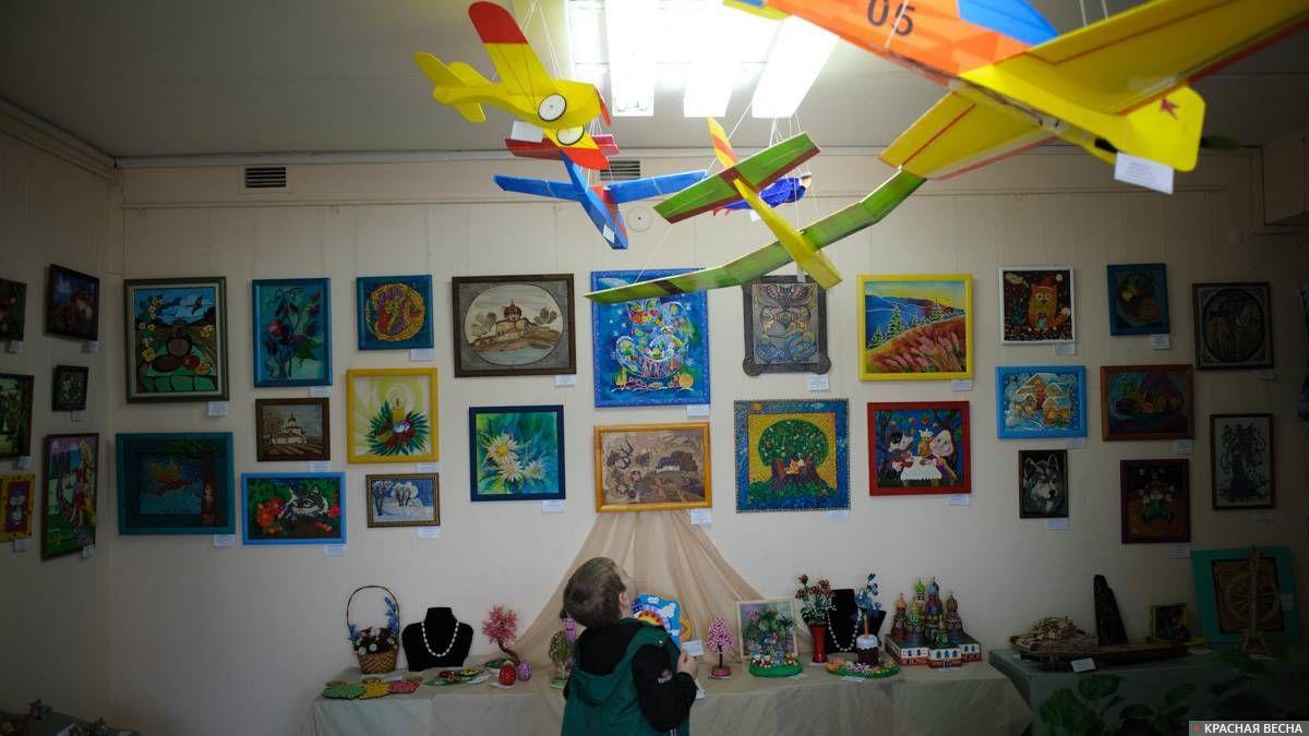 Выставка детского творчества. Орел, 26 апреля 2018 г.