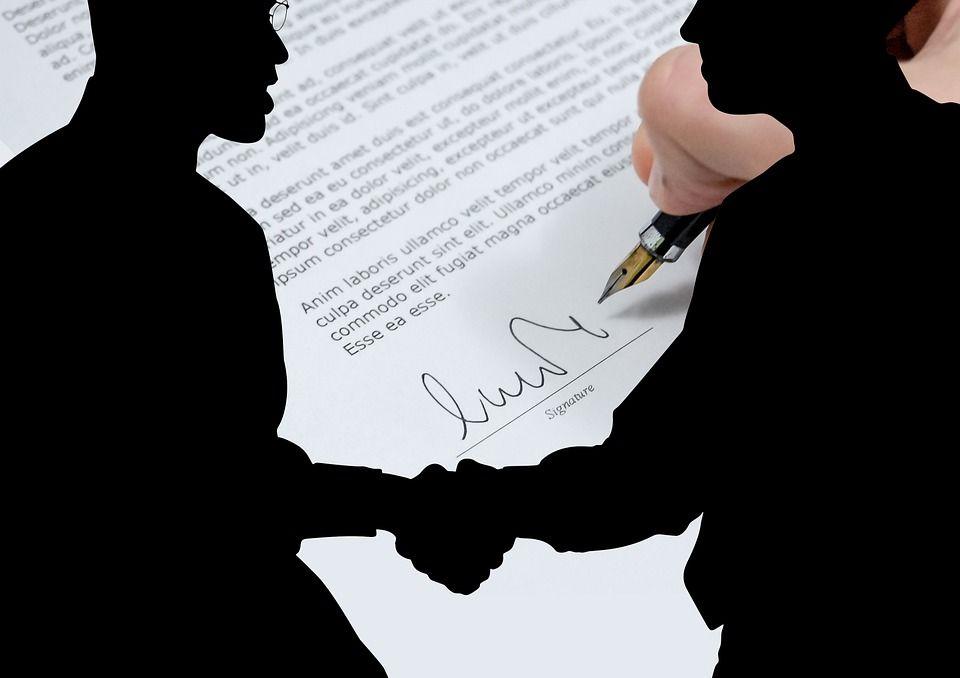 Контракт, автор: geralt, лицензия: CC0 1.0