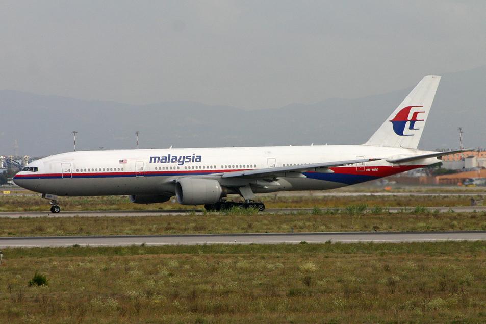 Boeing 777-2H6ER 9M-MRD Malaysian [(CC By-SA 2.0) Alan Wilson]