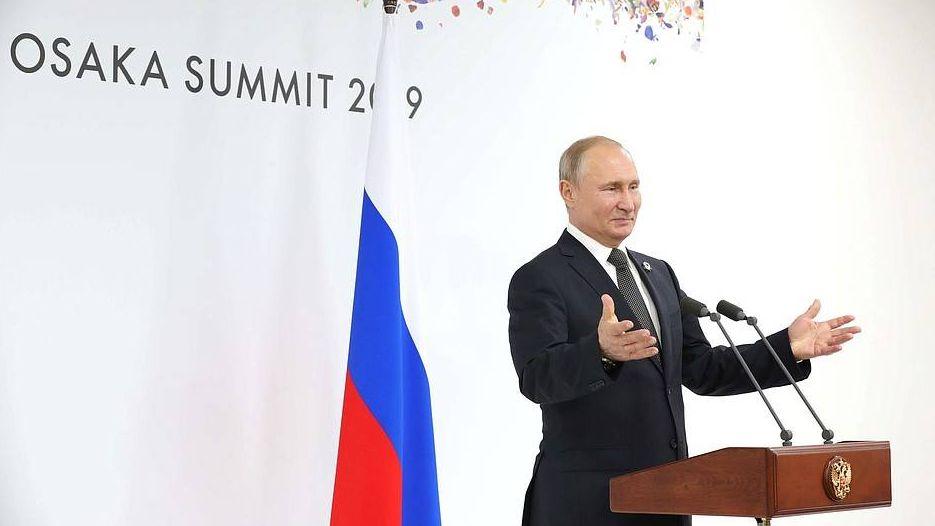 Пресс-конференция владимира Путина по итогам саммита «Группы двадцати»