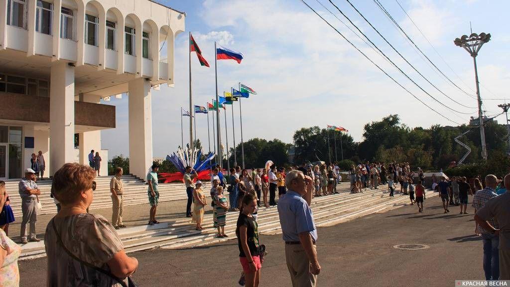 Приднестровье. Тирасполь. Площадь Суворова