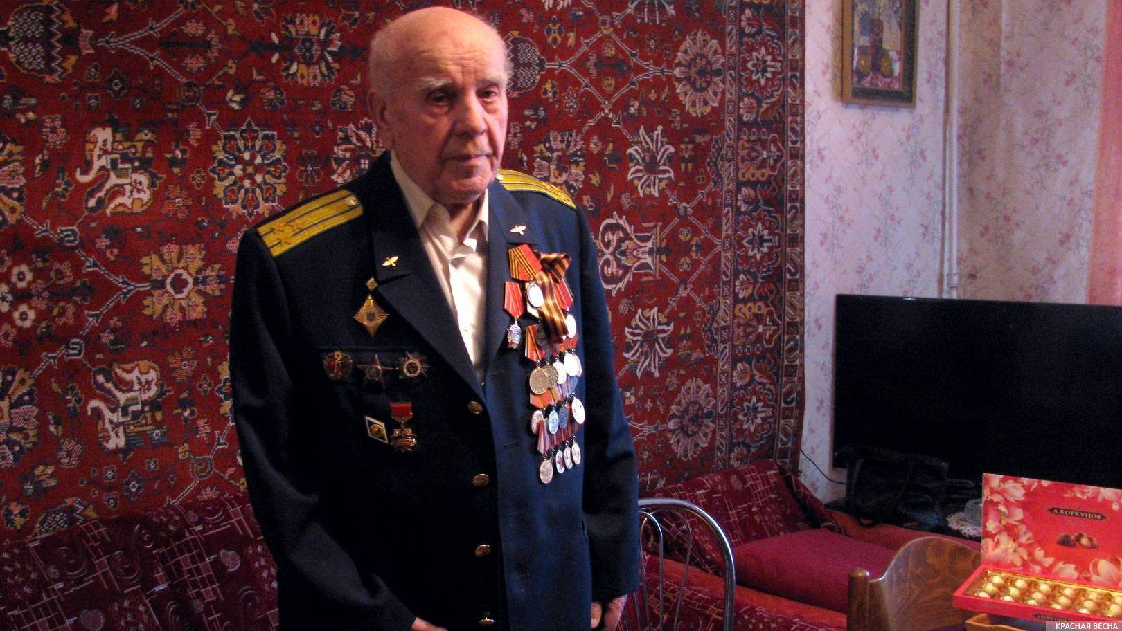 Ветеран Великой Отечественной войны Петр Белоножко