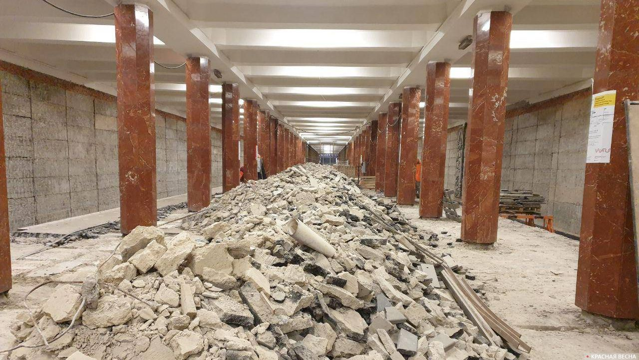 Каховская «Сороконожка» на реконструкции